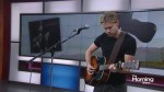 Chord Overstreet performs 'Hold On' on The Morning Show