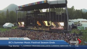 BC's summer music festival ends