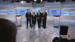 Leaders square off on economy, national unity in first debate