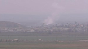 Explosions in embattled Syrian town of Kobani as ISIS and Kurdish forces clash