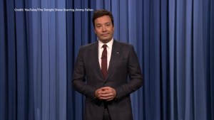 Jimmy Fallon delivers emotional monologue about racism and Charlottesville violence