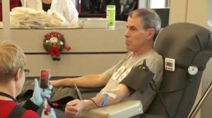 Blood donors needed more then ever over the holidays