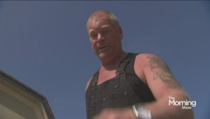 Mike Holmes accepts Ice Bucket Challenge