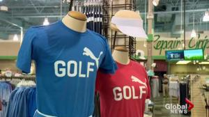 Graham DeLaet explains the new t-shirt fundraising initiative