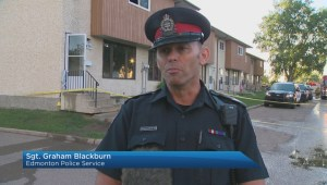2 men injured in west Edmonton stabbing, fire