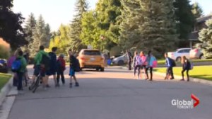 Schomberg parents fight to have kids bussed to school.