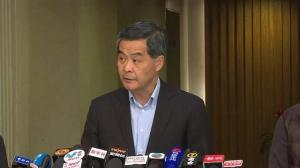 Hong Kong's Cheif Executive condemns 'riot'