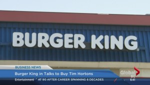 Tim Hortons and Burger King possible merger