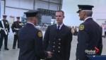 Calgary Fire Department graduation