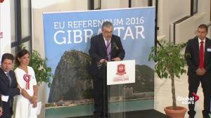 Gibraltar votes to stay in European Union