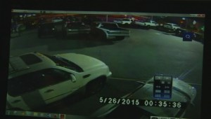 Car thief can't escape from used car lot