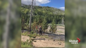 OHV users stop the spread of fire in the Castle Mountain area