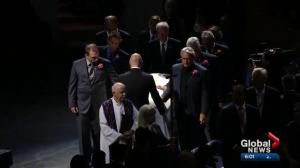 Arena ceremony held to remember former Edmonton Oiler Dave Semenko