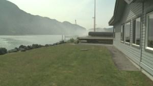 Squamish dock fire