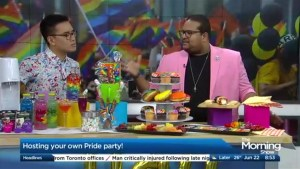 Hosting a pride party