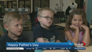 Happy Father's Day: Students from Sherwood Park school talk about what makes their dads so special