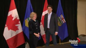 Premier Notley meets Prime Minister Trudeau in Kananaskis Country
