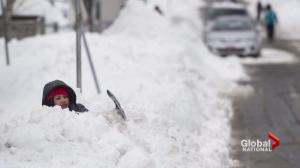 Third record-breaking blizzard blasts Atlantic Canada this week