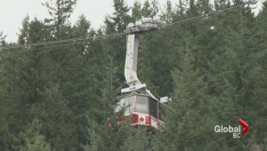 Grouse gondola gets stuck