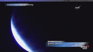 Timelapse of total lunar eclipse