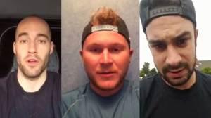 Blackburn Hawks release video for missing Canadian teammate