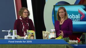 New food trends for 2015
