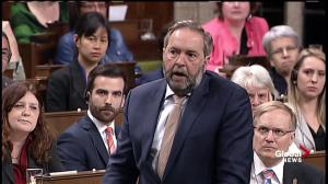 Mulcair calls for government to pardon criminal records of those with marijuana convictions