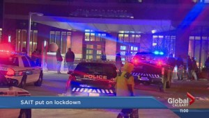 SAIT on lockdown after possible gunshots