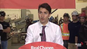 Trudeau claims NDP can't say where spending money is coming from