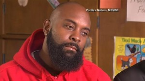 Michael Brown's father speaks after the grand jury decision was announced