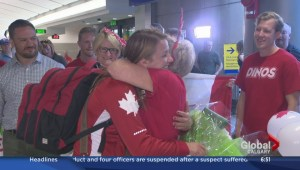 Olympian Erica Wiebe returns from Rio