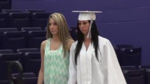 Ohio high school holds early graduation for student with dying father