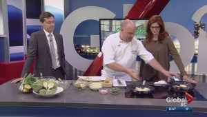Saturday Chef: Halibut with artichoke potato salad