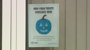 Trick or treating extra scary for those with food allergies