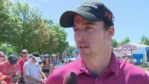 Canada's Nick Taylor has some advice for David Hearn heading into the final round of the Canadian Open