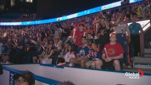 RAW VIDEO: Oilers fans go nuts when Connor McDavid drafted