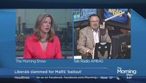 Liza Fromer and AM640′s John Oakley on the MaRS bailout, bucket lists