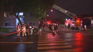 RAW: Explosion in Hochelaga-Maisonneuve