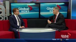 Opposition leader Brian Jean on Global Edmonton's Morning News