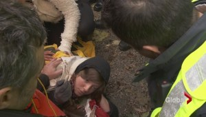 Protesters arrested for civil disobedience on Burnaby Mountain