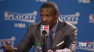 Dwane Casey: Couldn't get offence in rhythm
