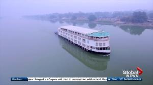 AMA Travel: Ganges River cruise through India