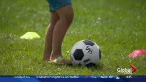 PotashCorp kids in the park soccer program