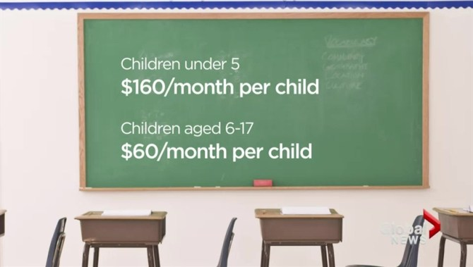how to get universal child care benefit statement