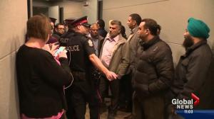 Tensions boil over during Uber debate at City Hall
