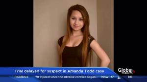 Trial delayed for suspect in Amanda Todd case