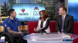 Paralympic Medalist Trevor Hirschfield excited to join Variety Show of Hearts