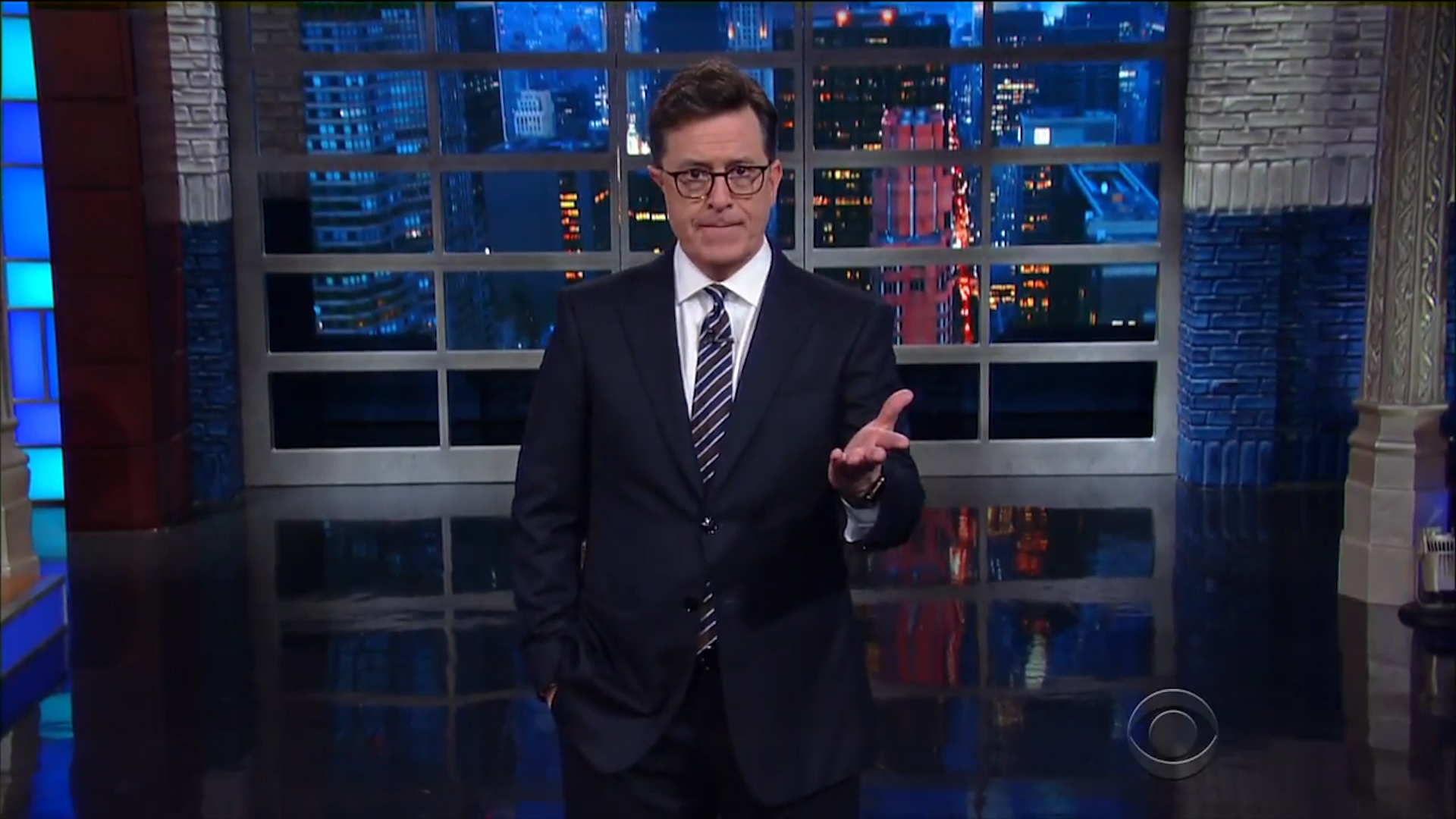Colbert and Meyers Give Trump's First 100 Days a Resounding
