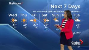 Edmonton Weather Forecast: July 7