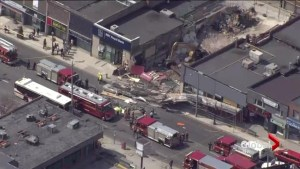 Multiple people injured after scaffolding collapses at Toronto building set for demolition